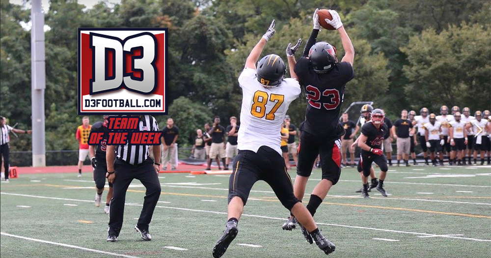 Snead Selected to D3football National Team of the Week