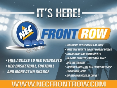 Northeast Conference Announces the Launch of NEC Front Row
