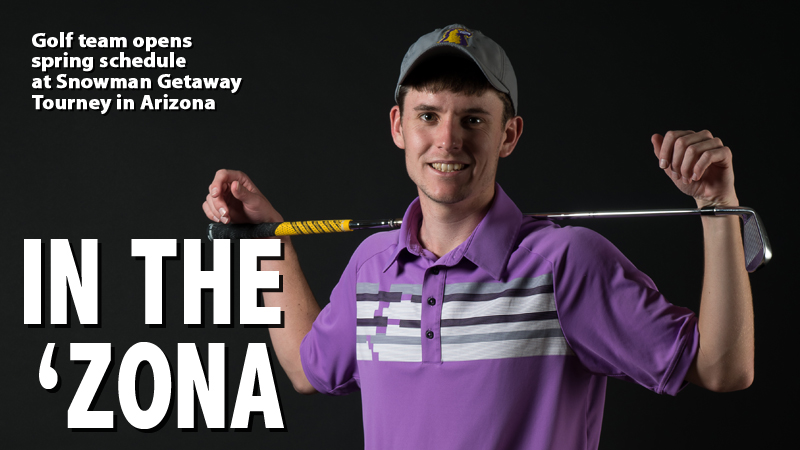 Golden Eagle men's golf to open spring at Snowman Getaway in Arizona
