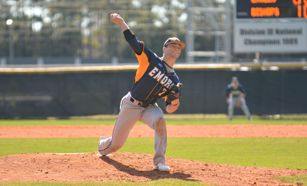 Emory Baseball Takes Series Opener from WashU, 6-3