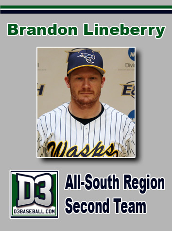 Emory & Henry's Brandon Lineberry Named D3baseball.com All-South Region