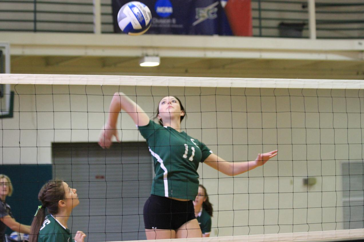 Women's Volleyball Drops A Pair To Open Season