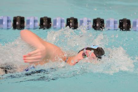 Bogdanovski of Johns Hopkins Named DIII Woman of the Year Nominee for Swimming & Diving