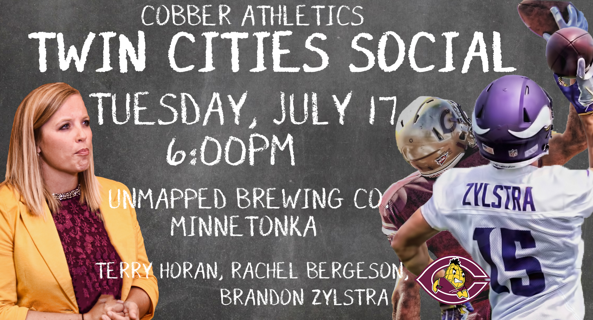 Cobber Athletic Twin Cities Social