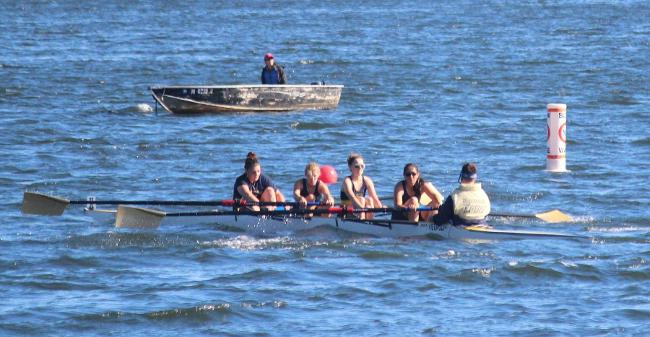 Crew Squads Combine For Trio Of Top Three Finishes At UMass Lowell River Hawk Challenge