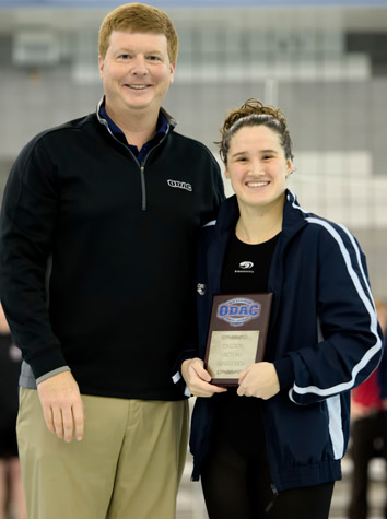 Emory & Henry Women's Swimming Takes Second Place At 2016 ODAC Championships