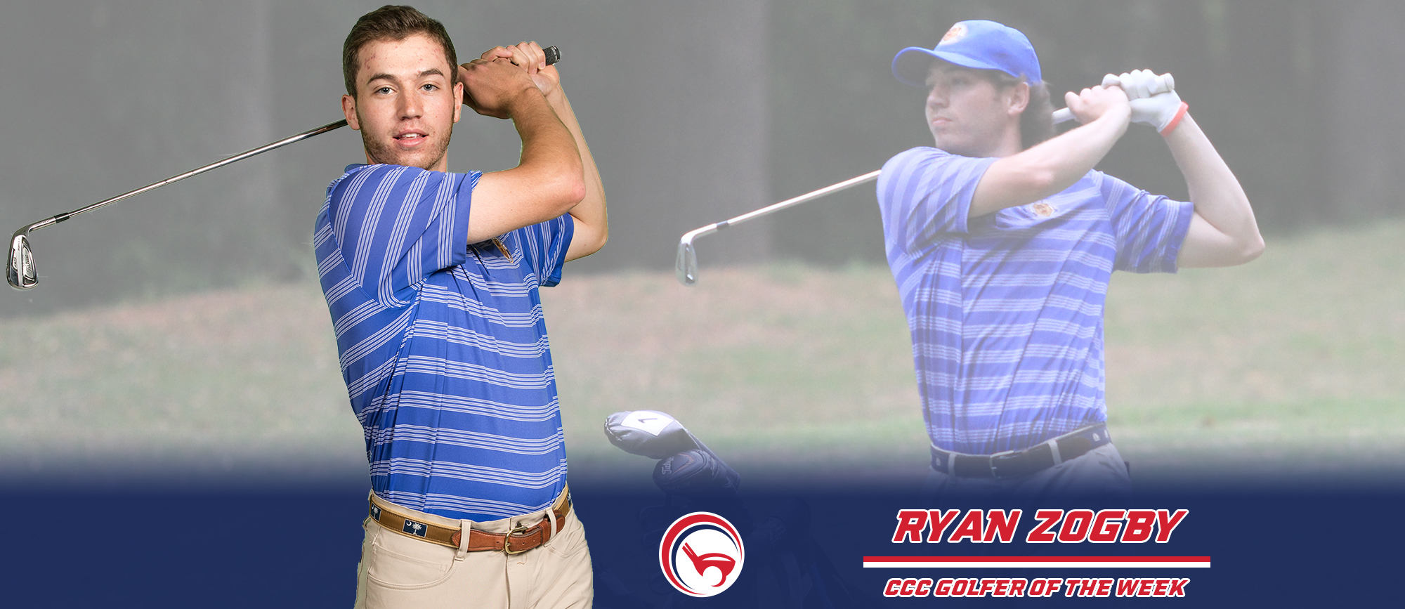 Ryan Zogby Earns CCC Golfer of the Week Recognition