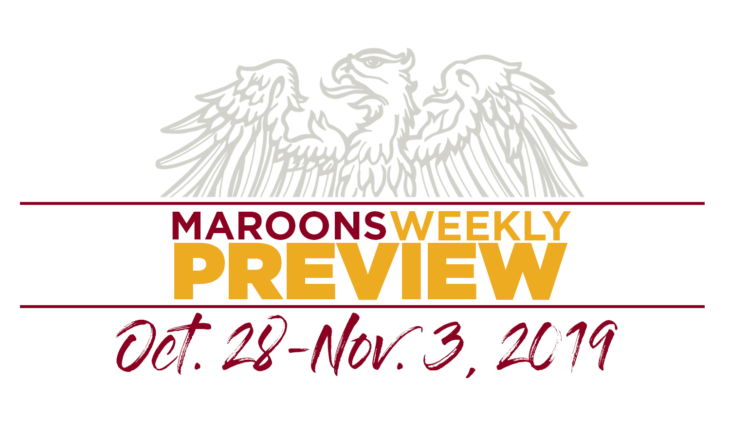UChicago Athletics Preview: October 28 - November 3