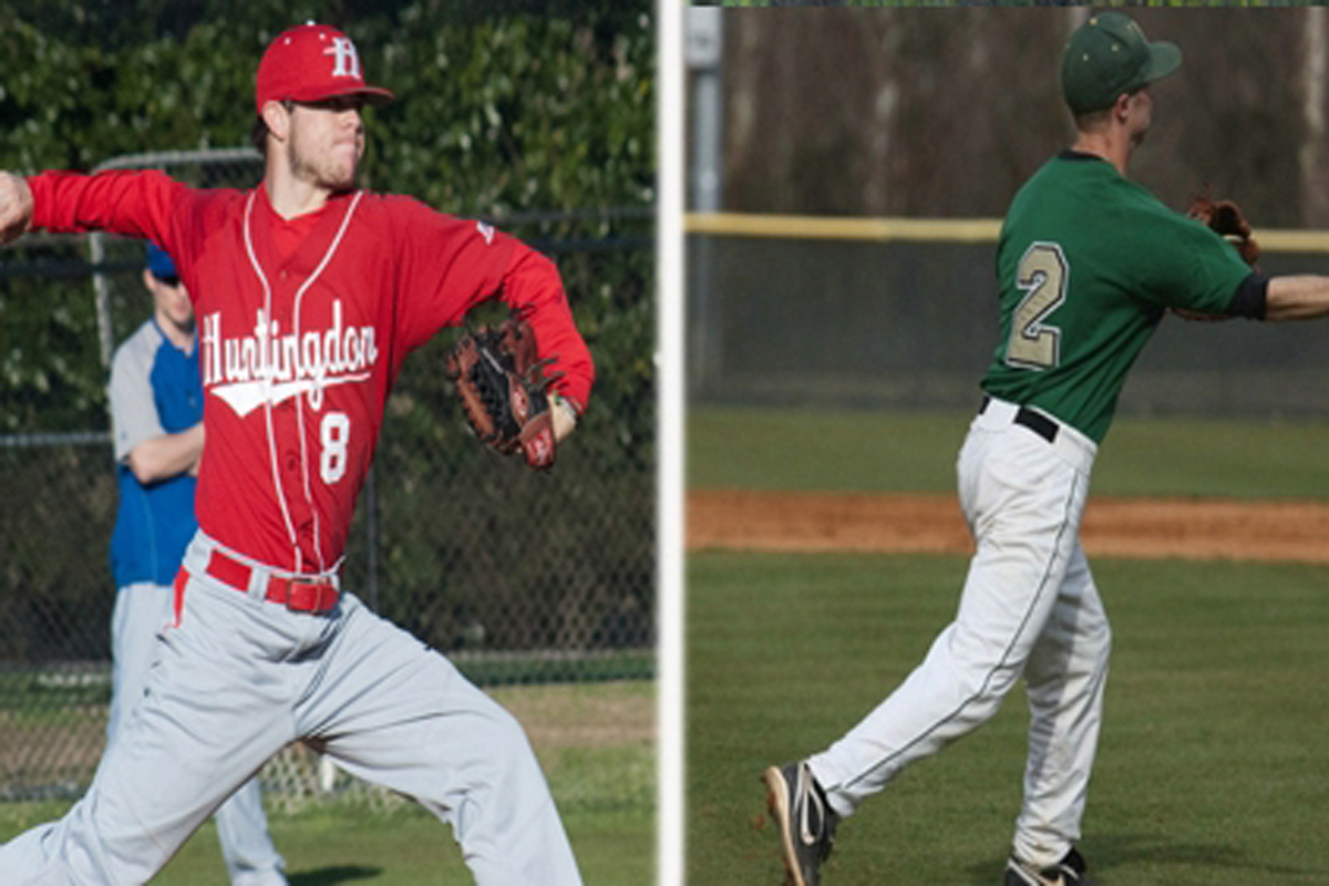 Lowman and Miers Named Baseball Pitcher and Player of the Week