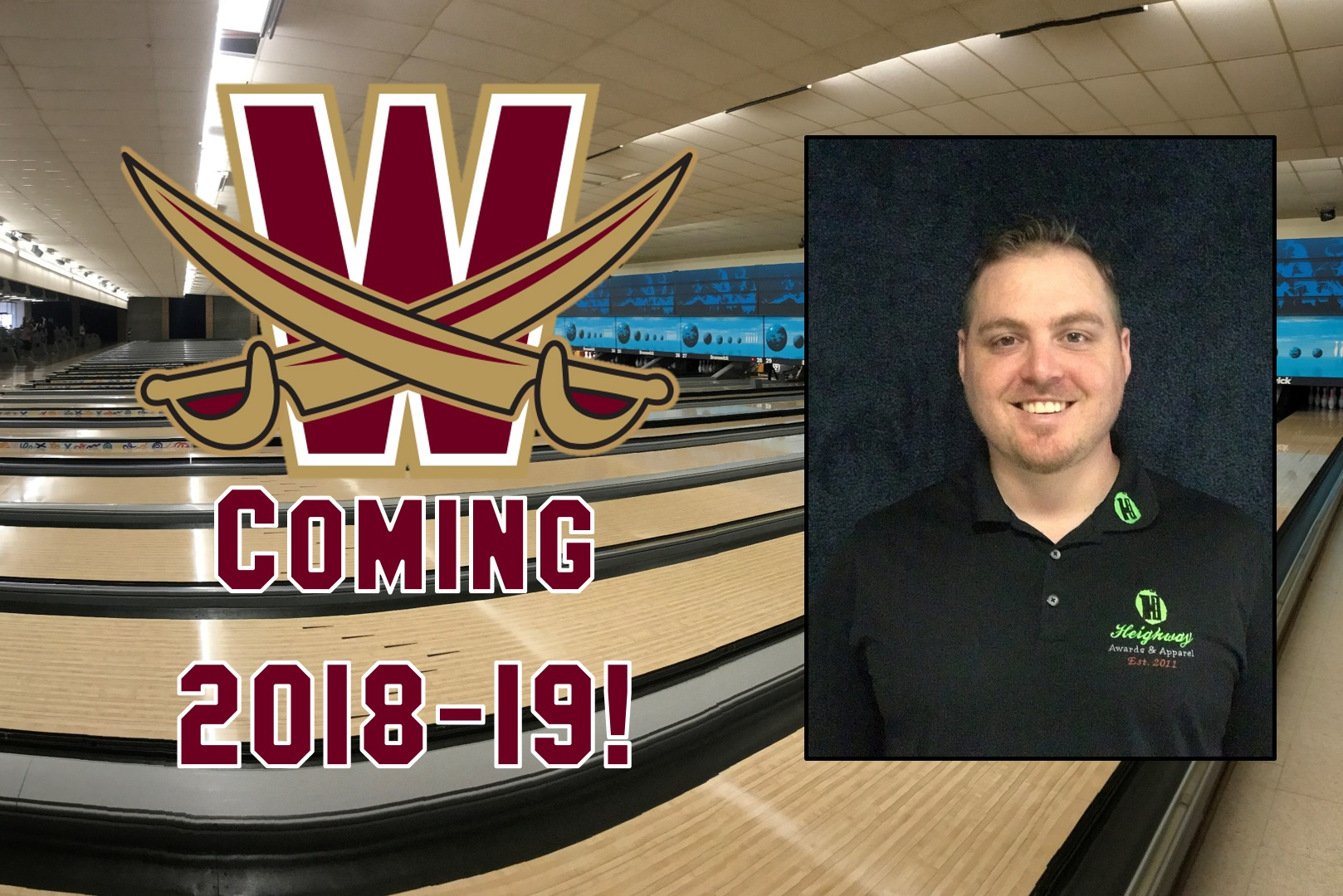 Walsh Launches Bowling Programs, Heighway Named Head Coach
