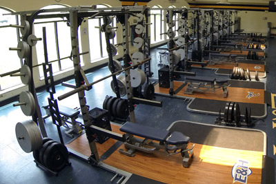 Robert W. Gibson III Weight Room
