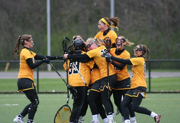The MCC women's lacrosse team claimed its sixth straight regional title with a 16-8 win over Onondaga Sunday. Photo by Cameron Lenci.