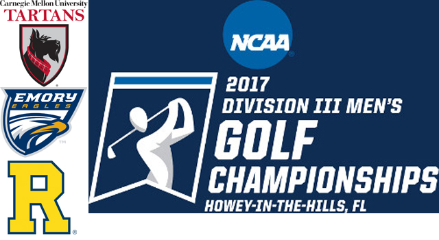 Three UAA Teams Receive Bids to NCAA Division III Men's Golf Championship
