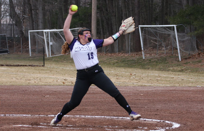 Softball Drops Doubleheader to Defending National Runner-up Saint Anselm