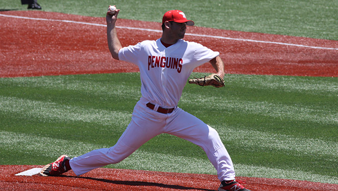 O'Brien Pitches Youngstown State to Program's First NCAA Tournament Victory