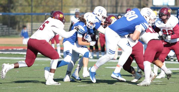 Football can't slow Concordia Chicago rushing attack