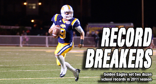 2011 Golden Eagle football team established dozens of school records