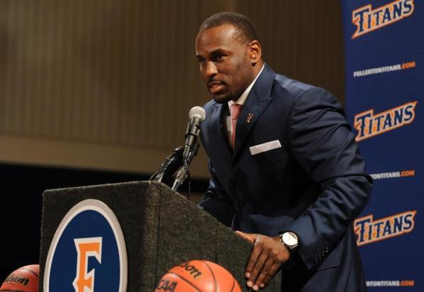 New head men's basketball coach Dedrique Taylor. Photo by Carlos Delgado.