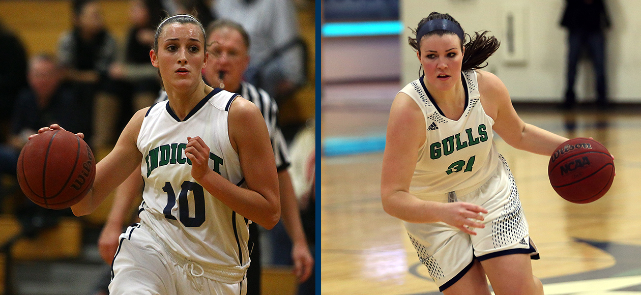 Kelsey Cuddy, Hannah Shaw Named To 2015-16 All-CCC Team