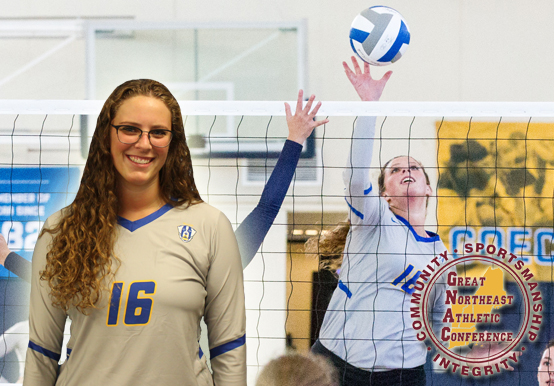 SHELOW NAMED TO GNAC WOMEN'S VOLLEYBALL ALL-CONFERENCE TEAM