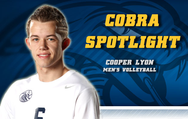 Cobra Spotlight- Cooper Lyon, Men's Volleyball