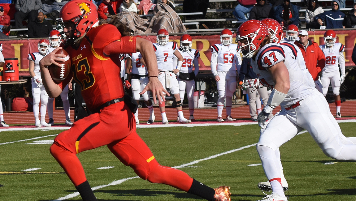 Ferris State Football Posts Statement Victory Behind Play Of Bermingham On Senior Day
