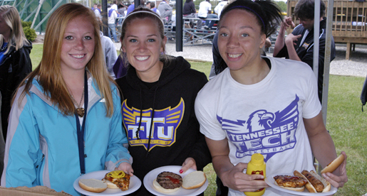 Tech celebrates Student-Athlete Appreciation Day with picnic