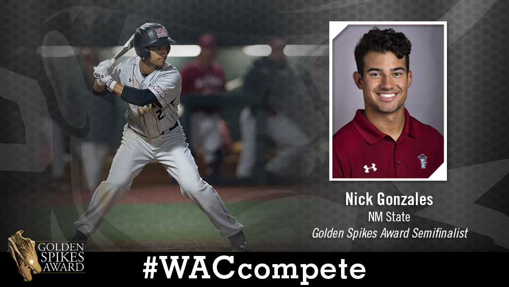NM State's Gonzales Named Semifinalist for Golden Spikes Award