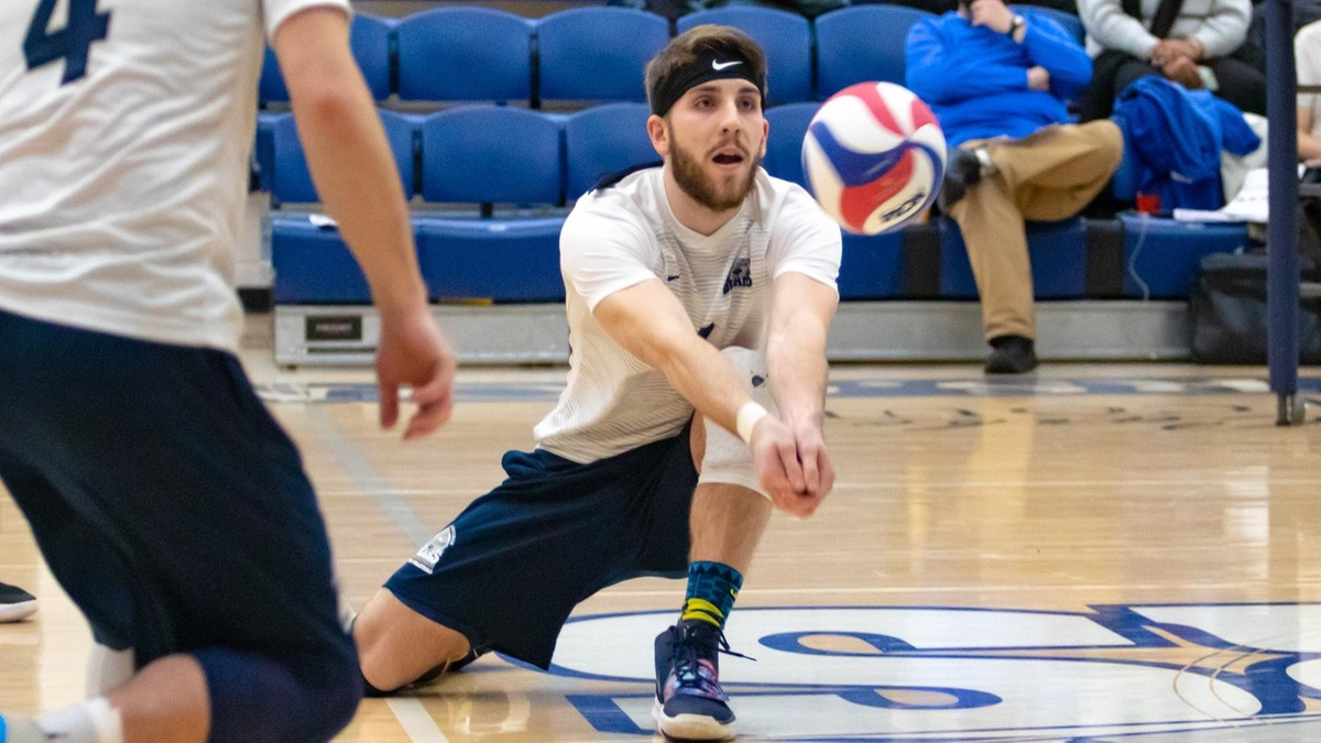 CCNY Takes Series from Men's Volleyball