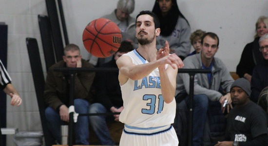 Lasell Men's Basketball edged by Johnson & Wales