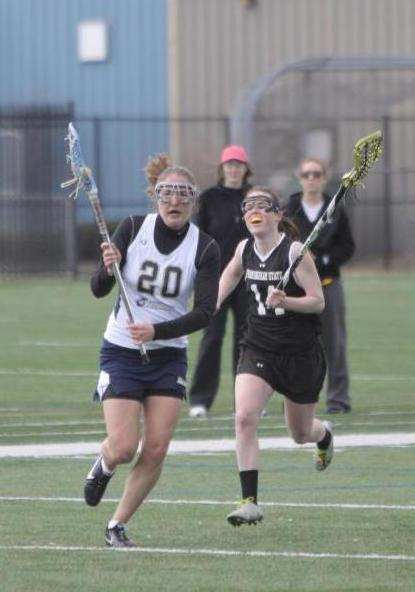 Hogan Nets Pair Of Goals, Langley Makes 11 Saves As Women's Lacrosse Drops 13-4 MASCAC Quarterfinal Round Decision At Worcester State