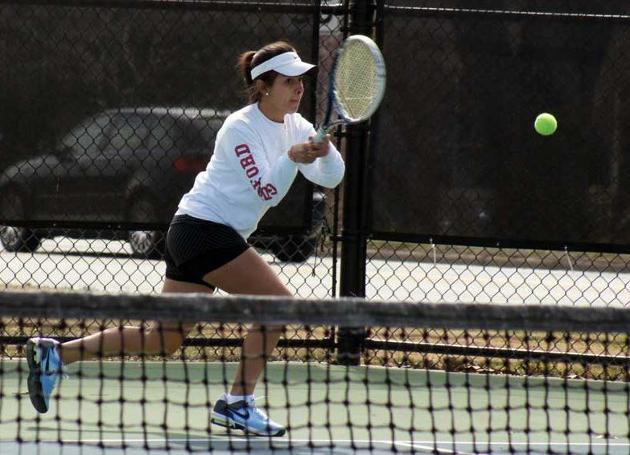 Salem Claims 7-2 Women's Tennis Win Over Visiting Guilford