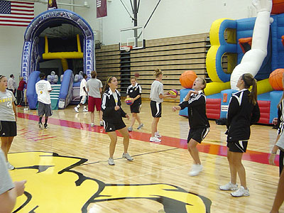 Athletics Open House Held Monday Evening