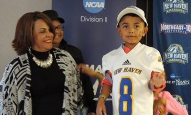 New Haven Football Team Signs Jeshua Lopez