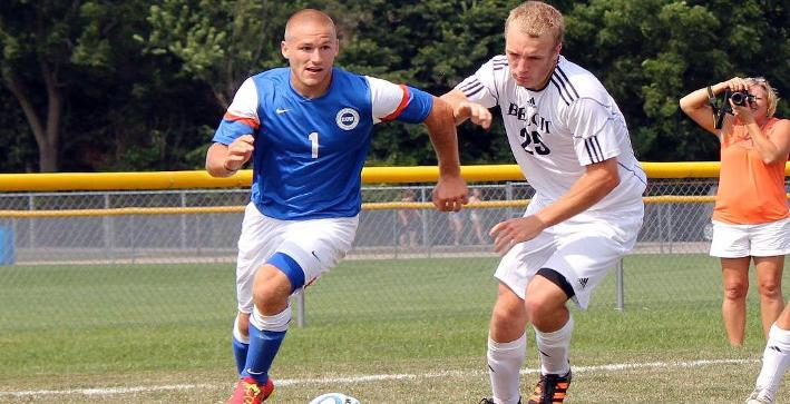 Men's Soccer plays to 1-1 draw in NACC match against Aurora