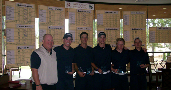 Bobcat Golf Receives Outstanding Academic Team Award
