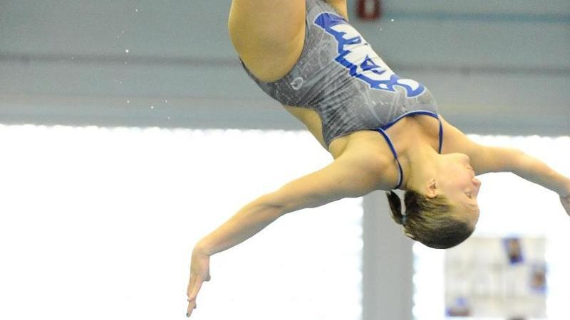 Goldman Wins 1-Meter at Blue Devil Diving Invite