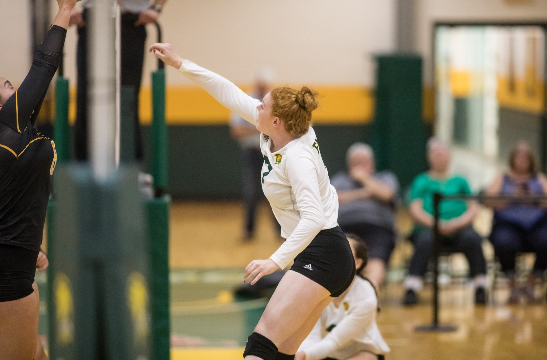 Falcons Fall In Three Sets To Blazers