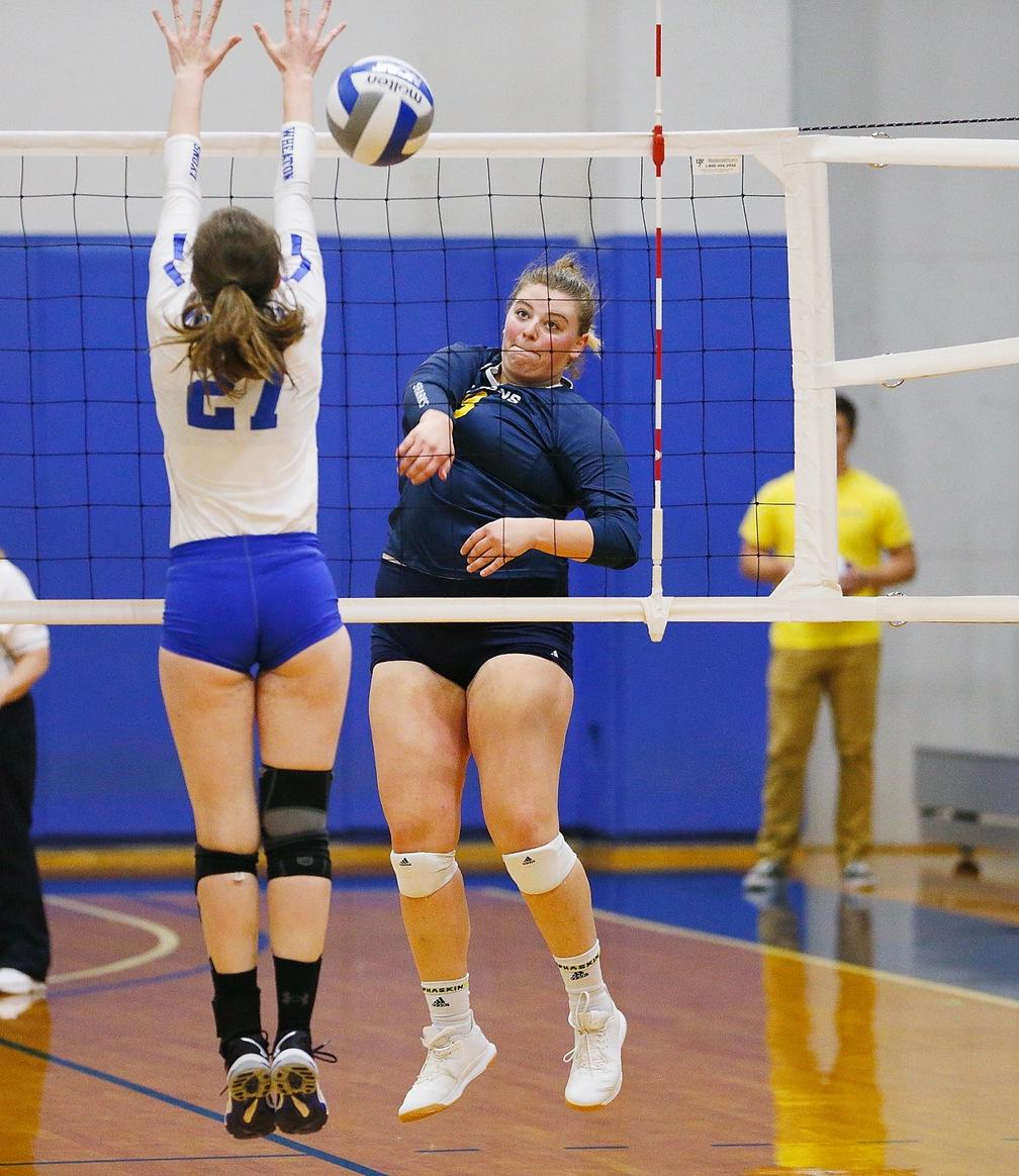 Outside hitter Morgan Weeg Class of '20