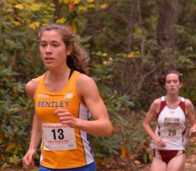 Dooley Runs to 6th Place Finish in New Englands; Bentley Women Have Best Showing Ever