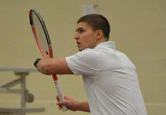 Bears Tennis Edges Clark
