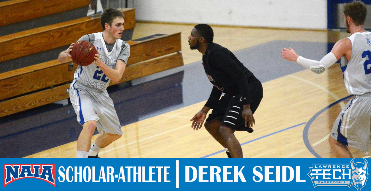 Photo for Seidl Named NAIA Scholar-Athlete