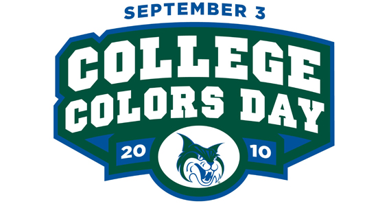 """Spirit Defender"" Supports College Colors Day"