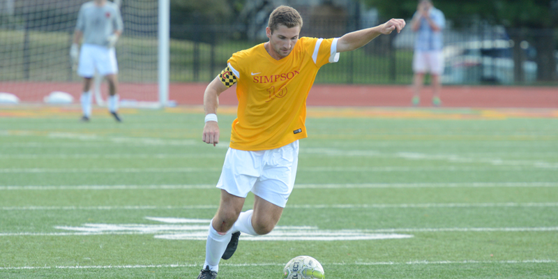 Men's soccer falls short at Grinnell