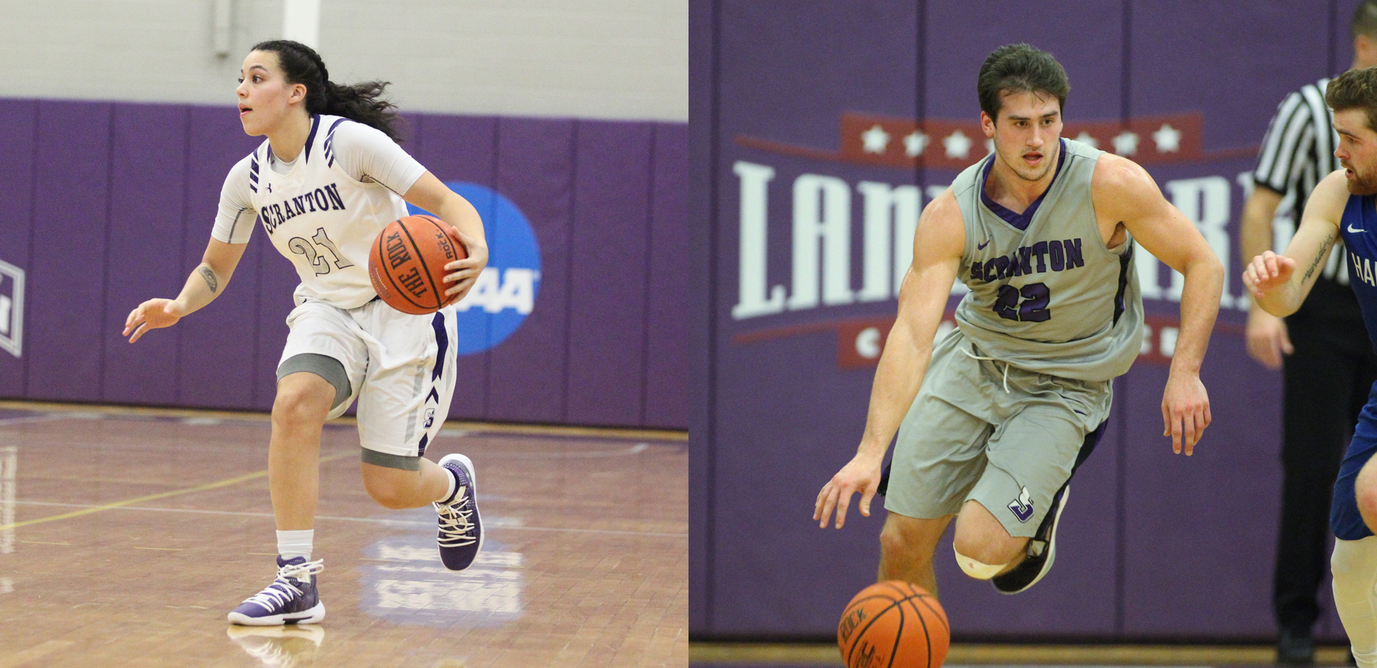 The University of Scranton basketball teams will now open the Landmark Conference playoffs on Thursday night.