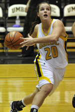 Michelle Kurowski scored 25 points against Brown.