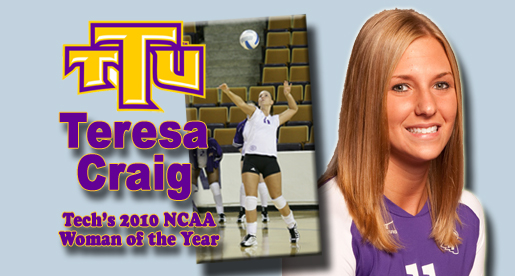 Teresa Craig chosen as Tech's 2010 NCAA Woman of the Year