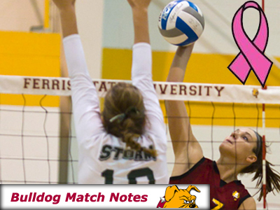 Women's Volleyball Weekly Notes (Matches 22-23)