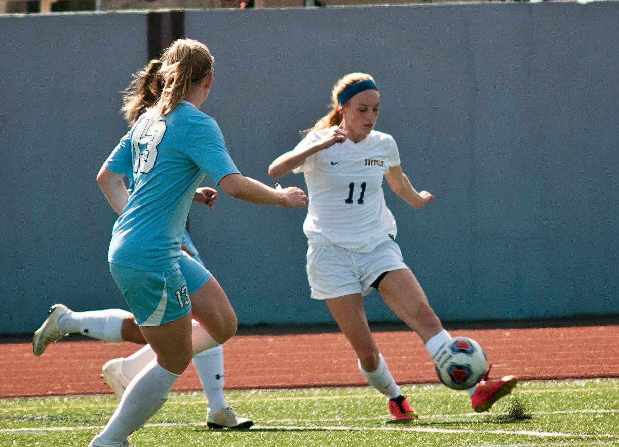 PK in Double Overtime Pushes Anna Maria Past Women's Soccer