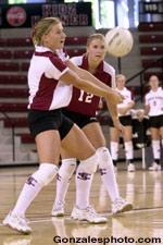 Volleyball Picked Second in WCC Coaches Poll